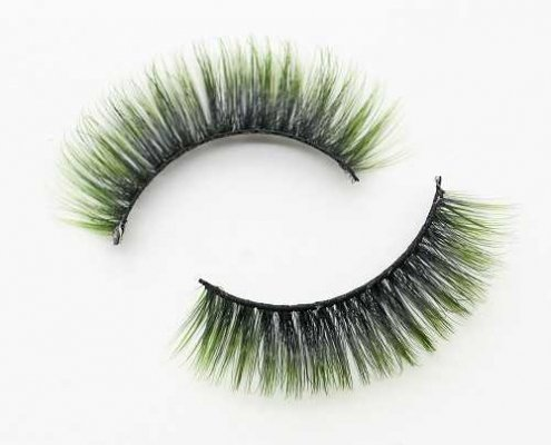 Colored eyelash C905A