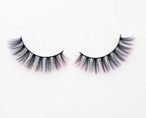 Colored eyelash C904B