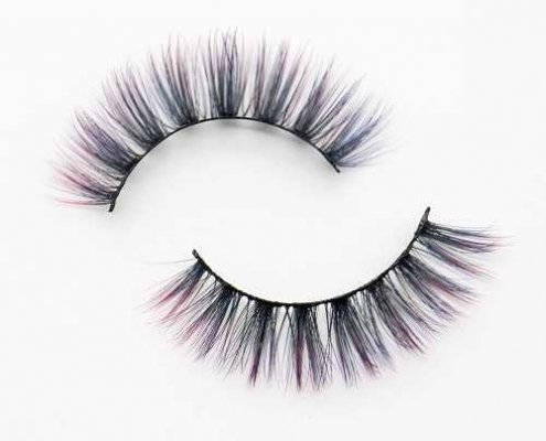 Colored eyelash C904B
