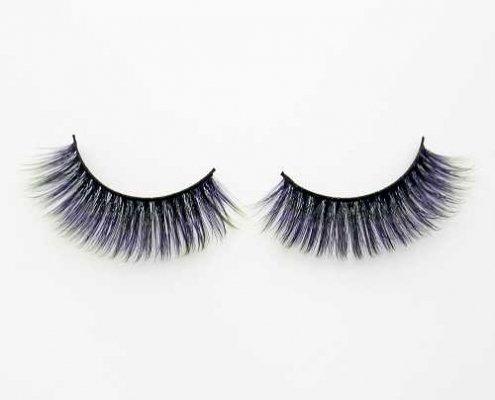 Colorful eyelash C905B