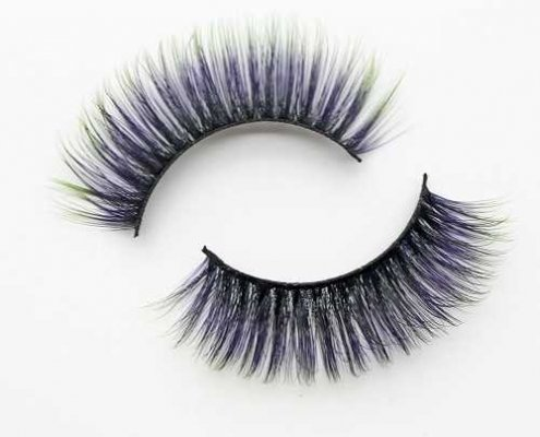 Colorful eyelash C905B