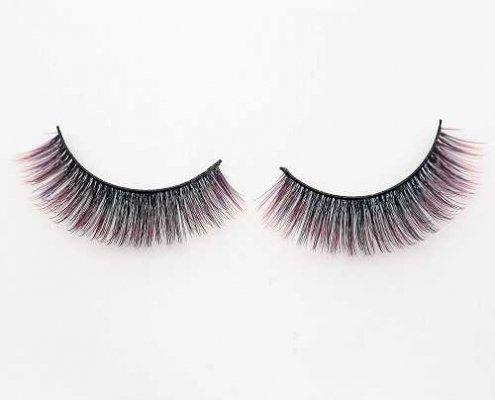 colored lashes C906B