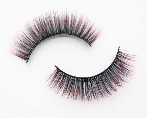 colored lashes C906B