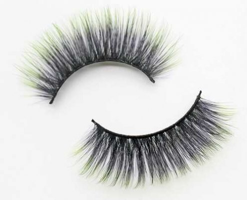 colored lashes C908B