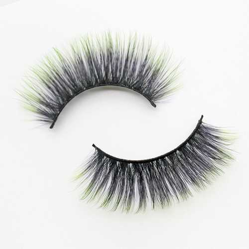 colored lashes C908B