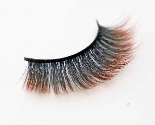 Colored eyelash C911B