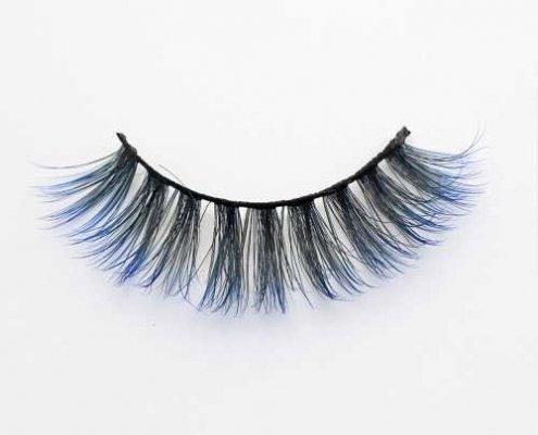 Colored eyelash C914A