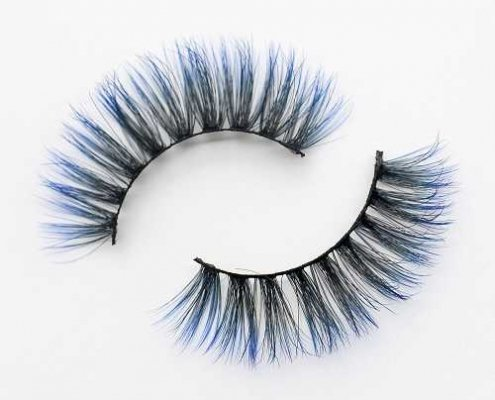 Colored eyelash C914A