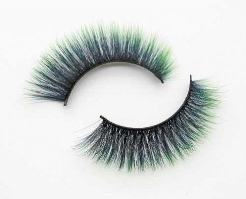 colored eyelash C902B