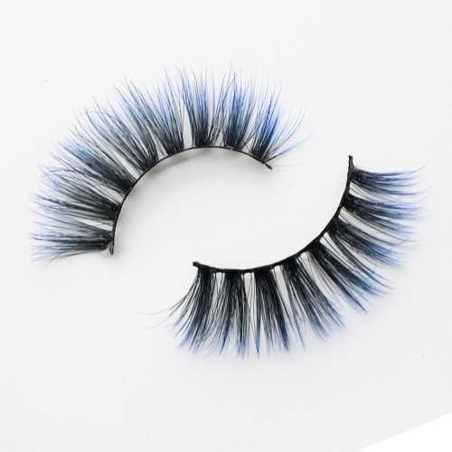 colored lashes C903A