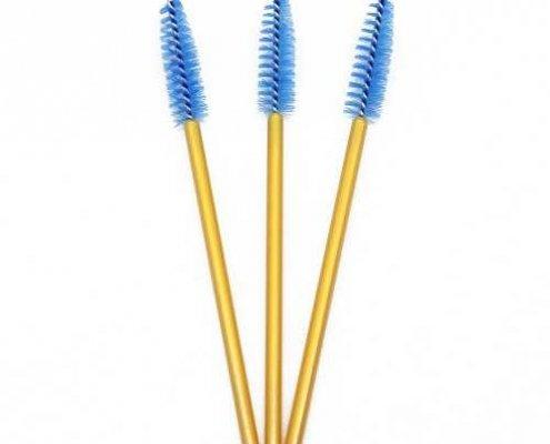 Blue head yellow rod eyelash brushes