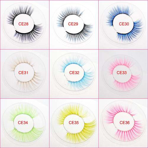 colorful lashes wholesale